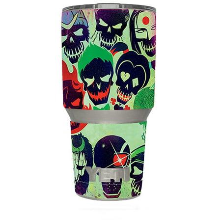 Yeti 30Oz Sticker Decal Set For Your 30 Oz Tumbler / Skull Squad, Green Berets