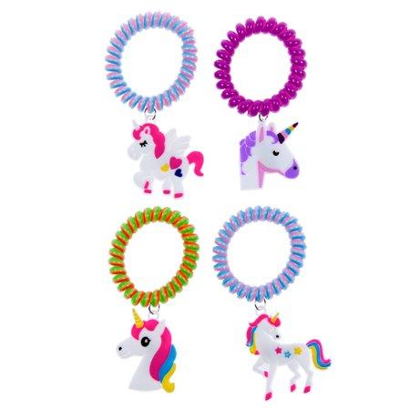 Unicorn Novelty Party Favors Cord Bracelets 1dozen