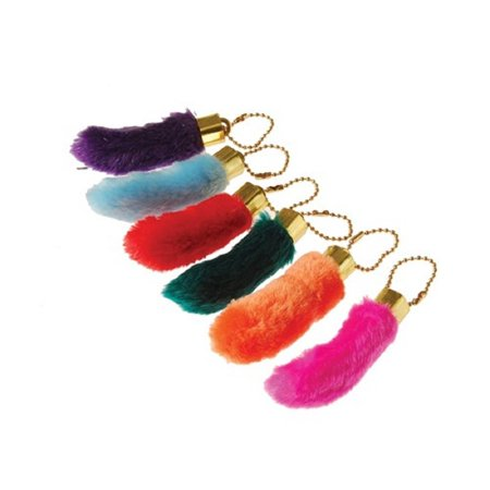 1 Rabbit Foot Keychain Color Will vary
