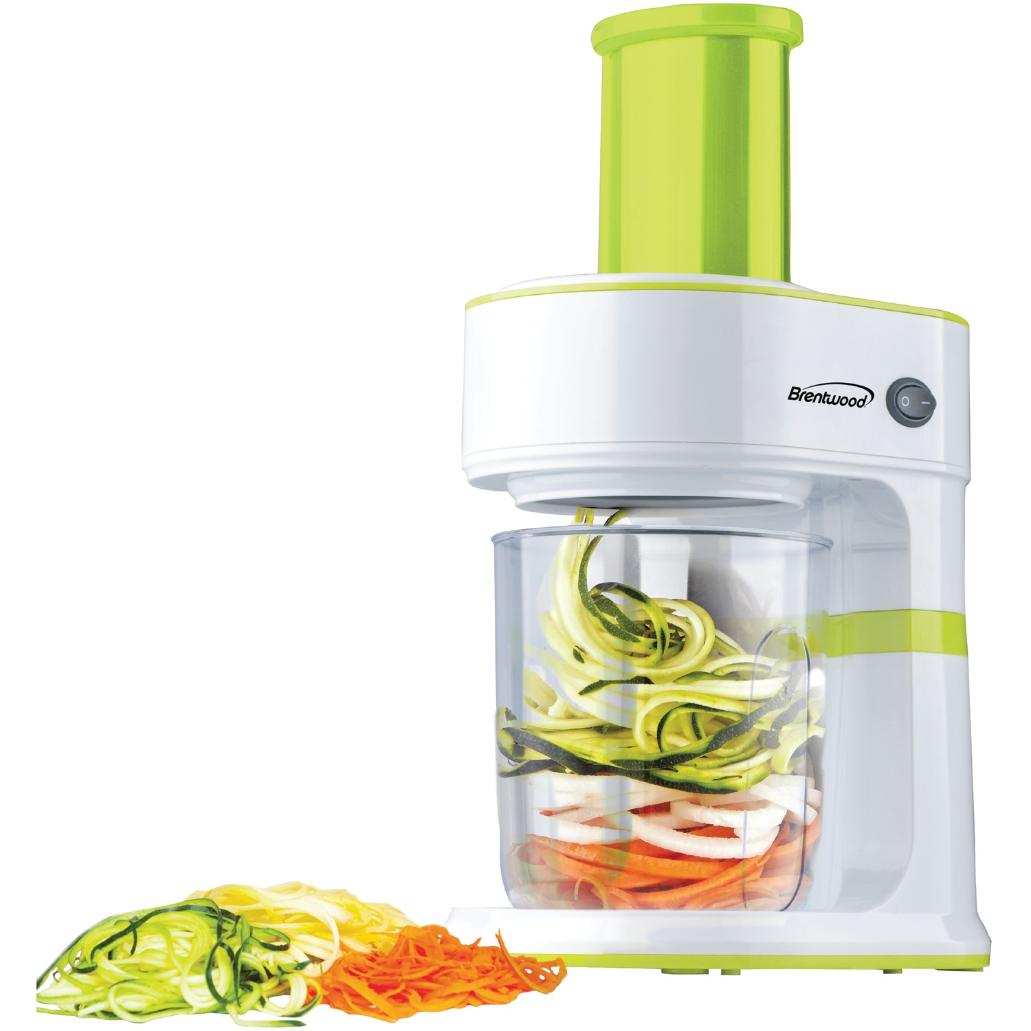 Brentwood Appliances FP-560G 5-cup Electric Vegetable Spiralizer & Slicer
