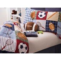 Team Sport Collegiate 4-Piece Comforter Set Full