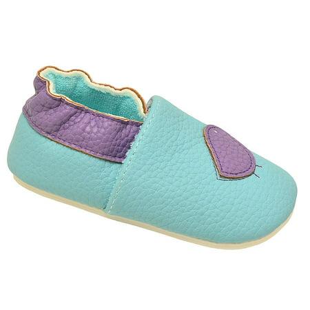 juDanzy Girls Aqua Lavender Dainty Bird Soft Sole Casual Shoes - Aqua Blue Jordans
