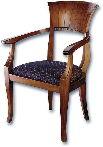 Mahogany Biedermeier Armchair by www.laurelcrown.com