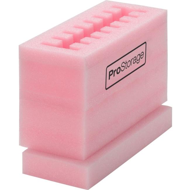 "ProStorage 2.5"" Hard Drive Storage case protects Laptop Hard Drives Pink"