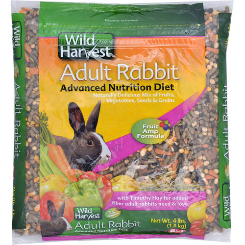 8In1: Wild Harvest Super Premium Rabbit Blend Pet Food, 4 Lb