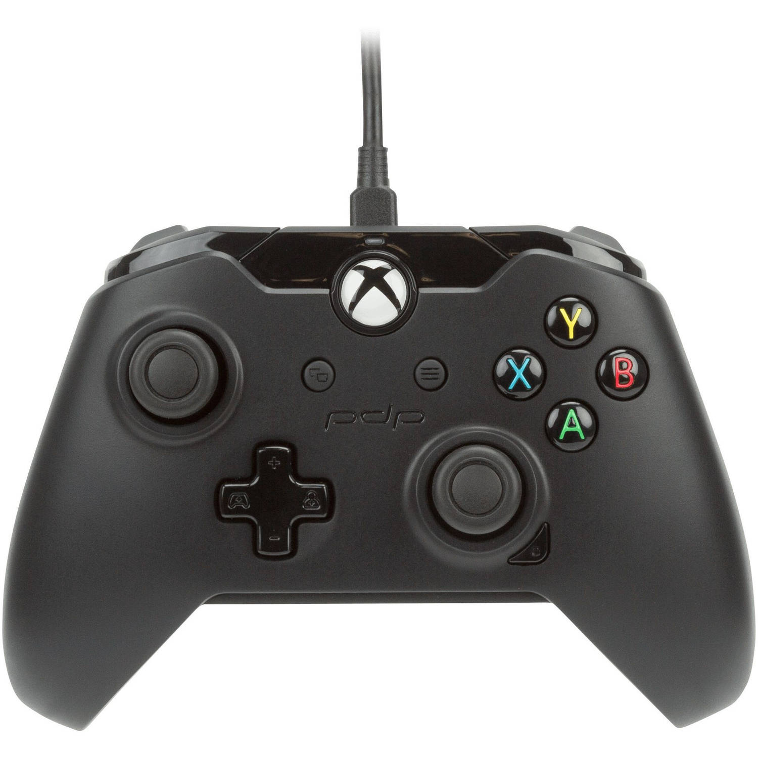 PDP Wired Controller for Xbox One and PC, Black