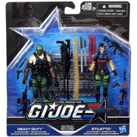 GI Joe Heavy Conflict Action Figure 2-Pack [Heavy Duty & Stiletto]