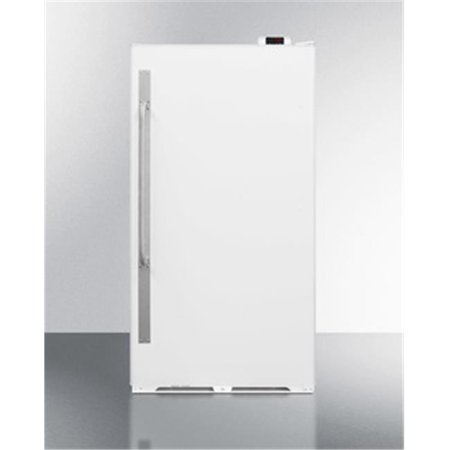 Summit SCUF18NC 16.7 cu. ft. Large Capacity Upright Frost Free All Freezer, White ()