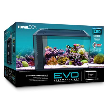 System 12 Aquarium Kit - Fluval SEA EVO XII Aquarium Kit, 12 gal