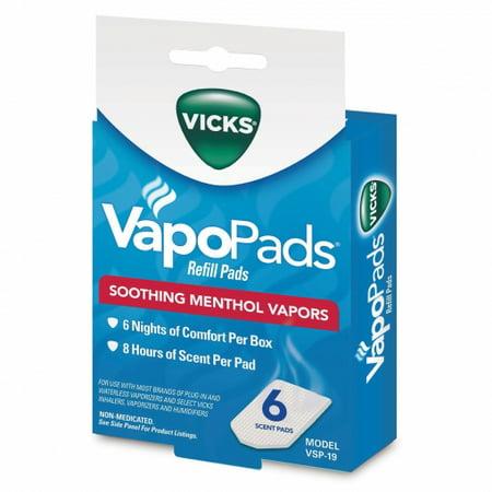 Vicks VapoPads 6 Pack, VSP-19