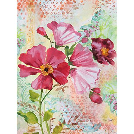 - Garden Beauty I 24x18 Giclee Floral Art Print Poster Decor by Jean Plout POD