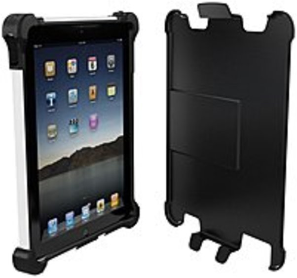 Ballistic Tough Jacket for iPad 2, Black and White