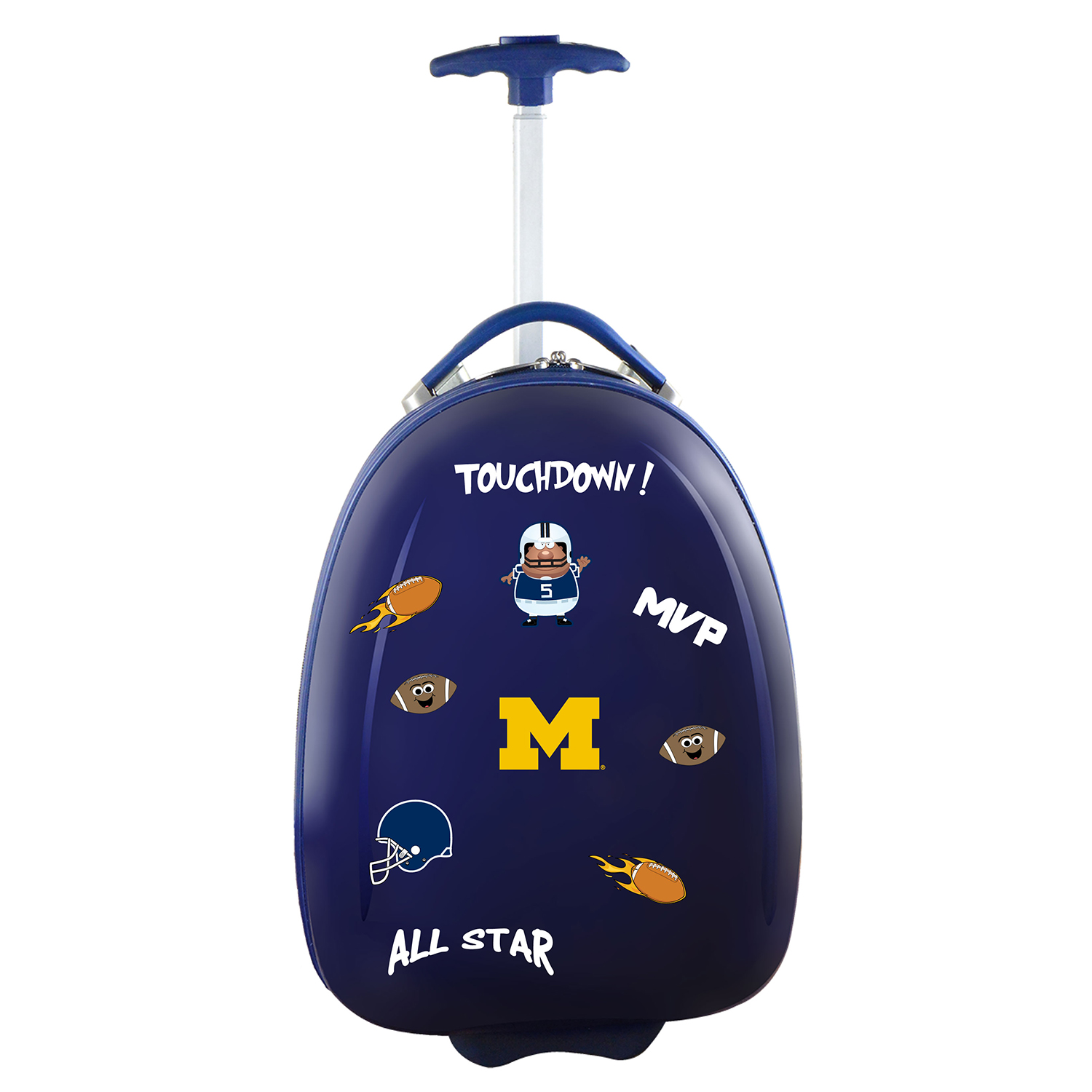 Mojo Outdoors NCAA Michigan Wolverines Kids Luggage Pod