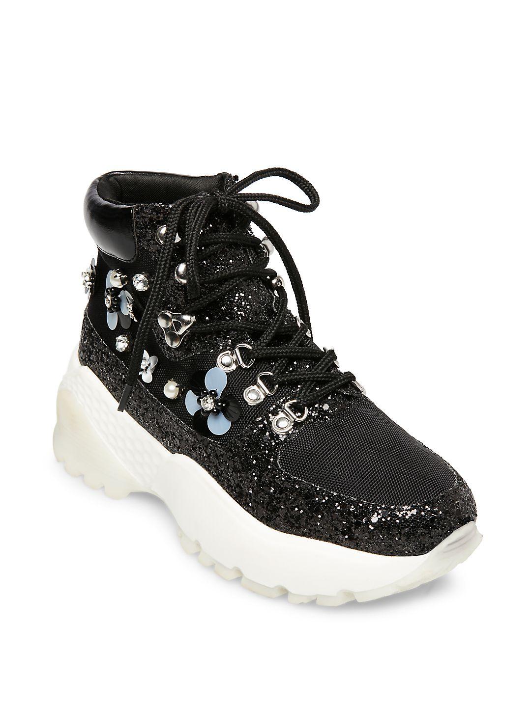 Abel Floral Platform Dad Sneaker Booties