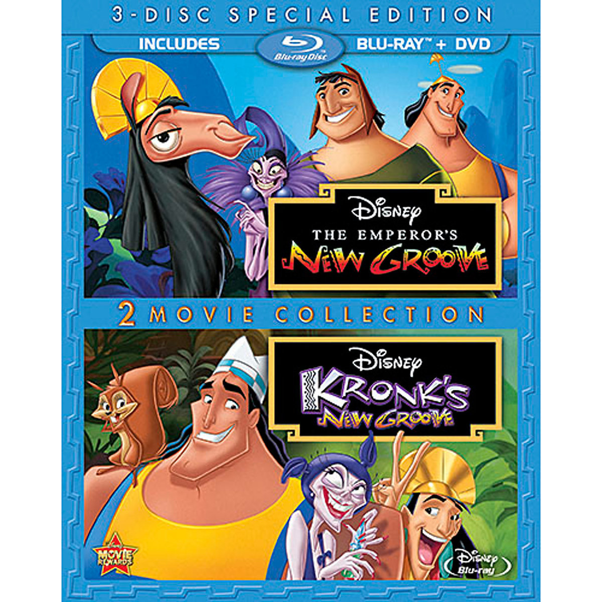 The Emperor's New Groove 2-Movie Collection (Blu-ray + DVD)