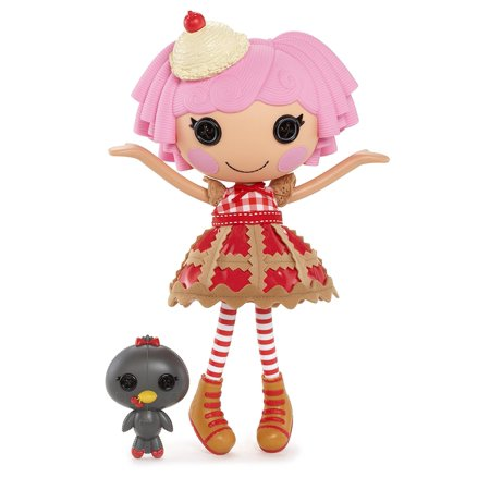 Cherry Crisp Crust Doll, Cherry Crisp Crust was sewn from a cherry pie By Lalaloopsy Ship from