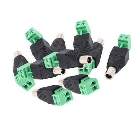 10Pcs CCTV Camera Terminal Block 2.1x5.5mm DC Power Famale Jack Socket Connector - image 5 of 5