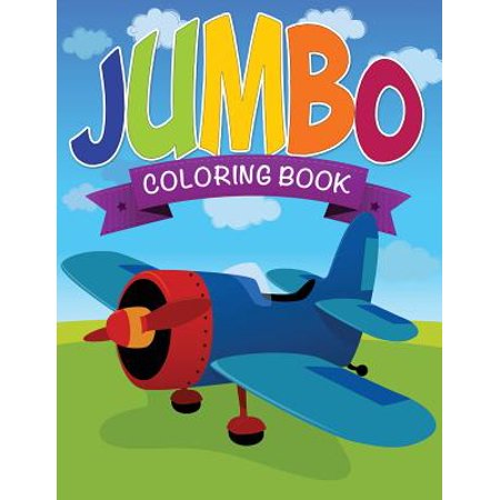 Jumbo Coloring Book (Jumbo Halloween Coloring Pages)