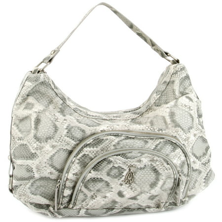 - Christian Audigier Holly Snake Hobo Bag -Grey