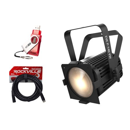 Chauvet DJ EVE P-140 VW DMX D-Fi Cool/Warm Wash Stage Par Light+D-Fi - Dmx Stage Wash