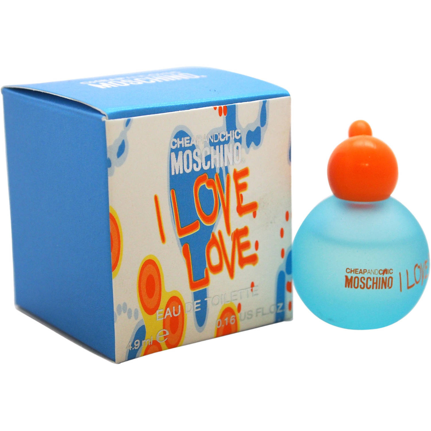 I Love Love Cheap And Chic by Moschino for Women, 4.9 ml