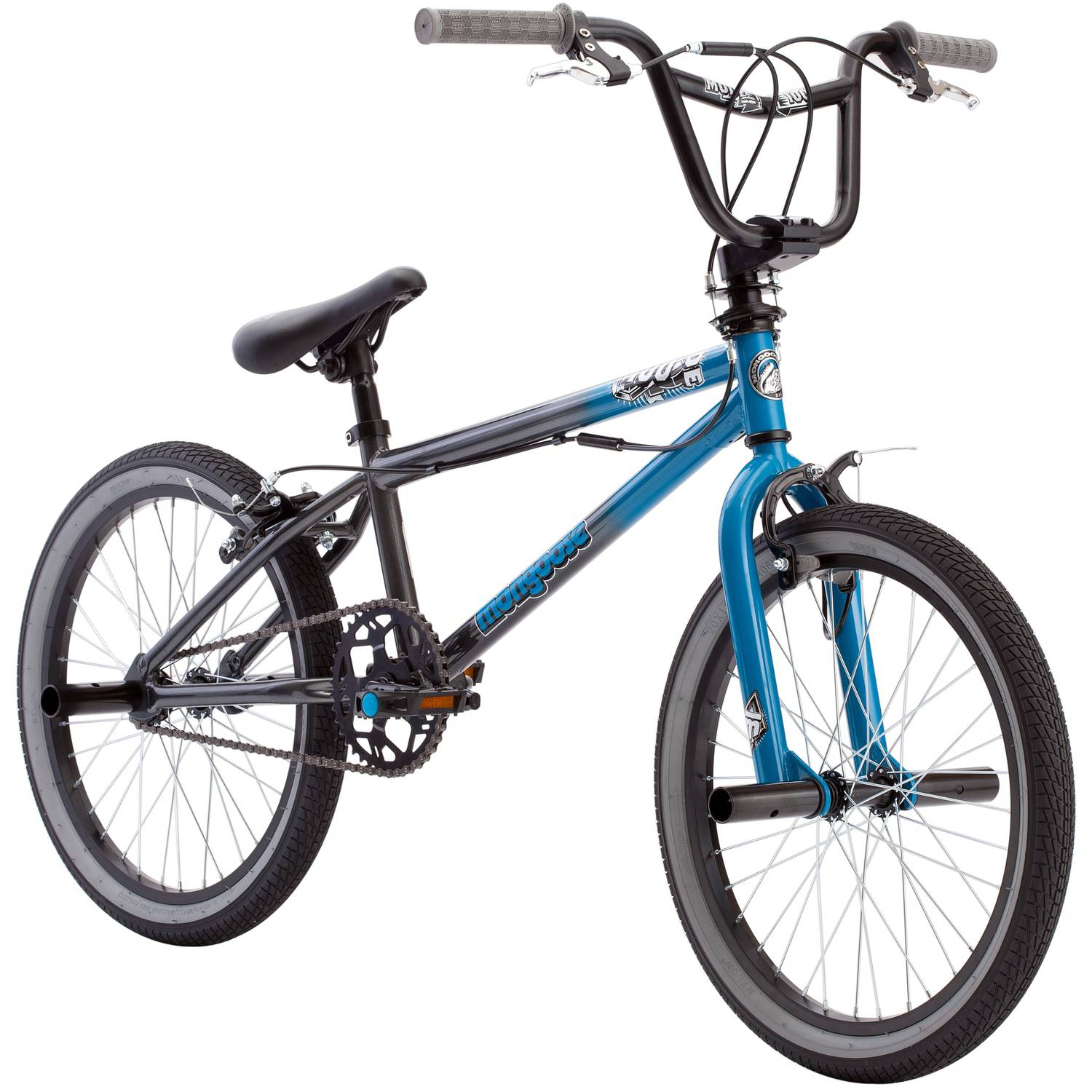 "20"" Mongoose Mode 100 Boys' Bike, Blue/Gray"