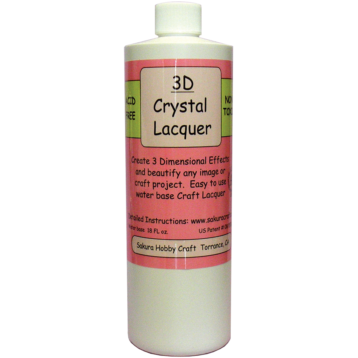 3D Crystal Lacquer Refill 18oz
