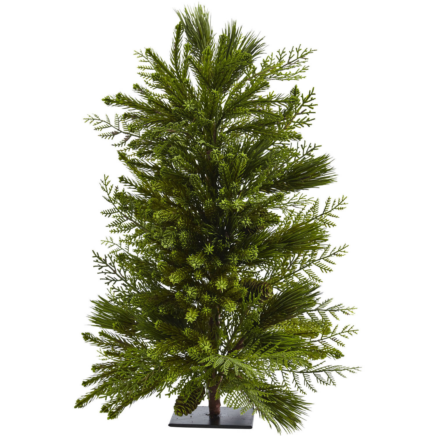 "26"" Artificial Mixed Pine Tree"