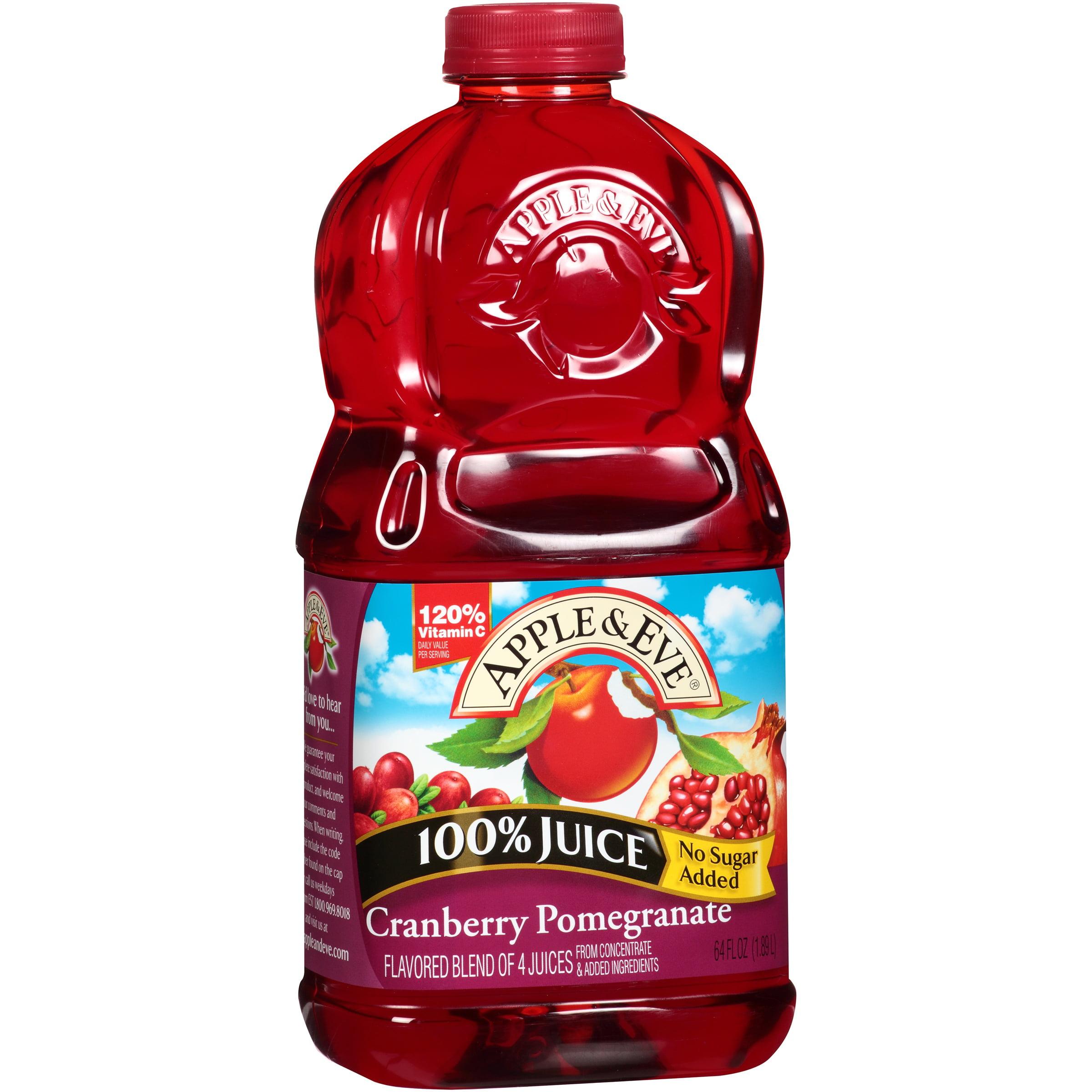 Apple & Eve Cranberry Pomegranate 100% Juice 64 fl. oz. Bottle by Apple & Eve, L.L.P.