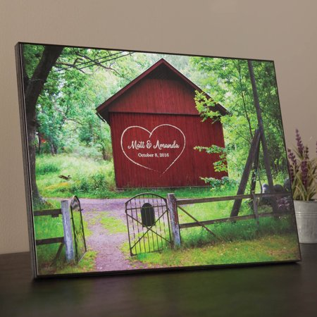 Personalized Barn Gate Lithograph