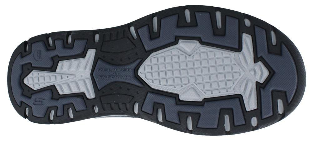 Skechers USA Men's Expected Avillo Slip-On Loafer, Black, 11.5 W US