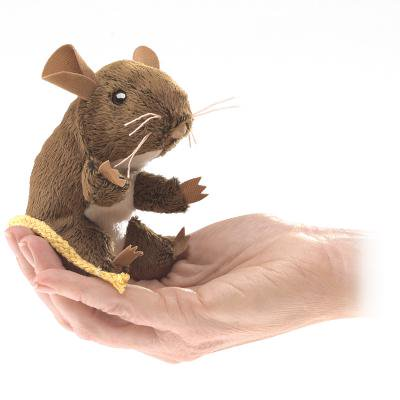 Folkmanis Mini Field Mouse Finger Puppet - Halloween Finger Puppets Printables