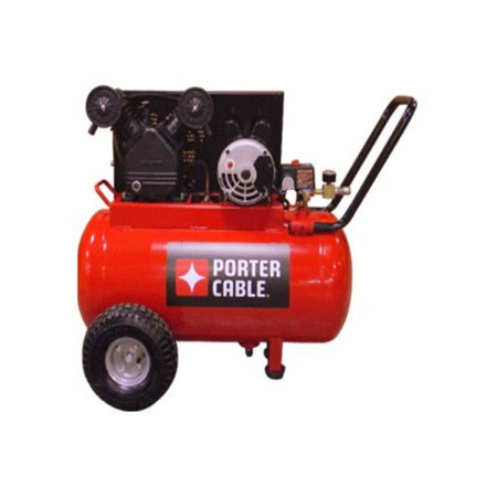 Porter Cable Pxcmpc1682066 1 6 Hp Single Stage 20 Gallon Oil Lube Horizontal Air Compressor