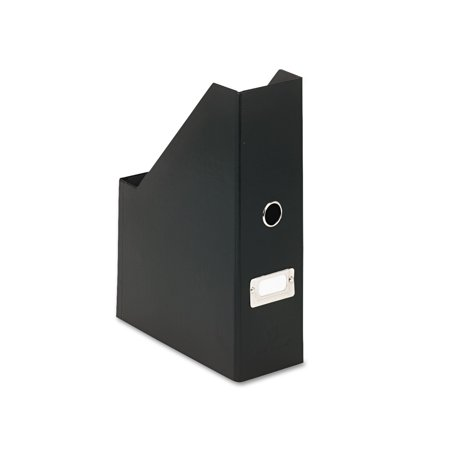 Snap-N-Store Heavy-Duty Fiberboard Magazine File with PVC Laminate, 4