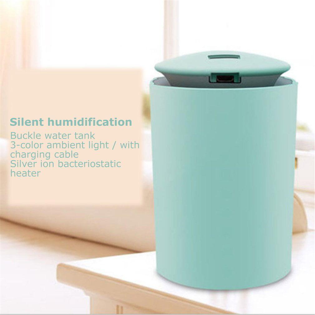 Mini Ultrasonic Air Humidifier  Soft Light Essential Oil Diffuser Car purifier