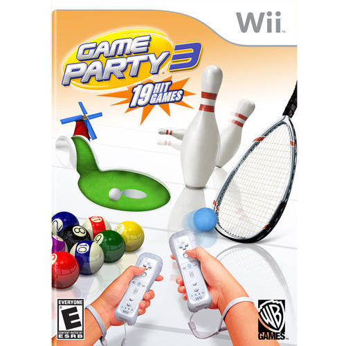 Cokem International Preown Wii Game Party 3