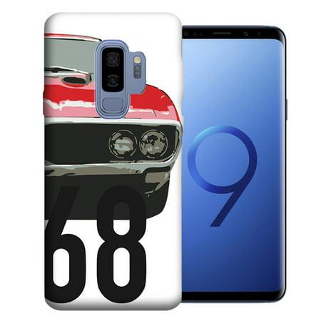 MUNDAZE For Samsung Galaxy S9 Plus 1968 Firebird Design TPU Gel Phone Case -