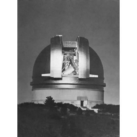Palomar Observatory Rolled Canvas Art - Science Source (24 x 36) (Palomar Vista)