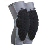 Empire Paintball NeoSkin Knee Pads F6 - Black/Silver - Small