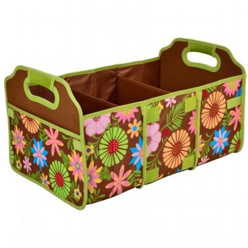Picnic at Ascot 8013-F Trunk Organizer , Foldable - Floral
