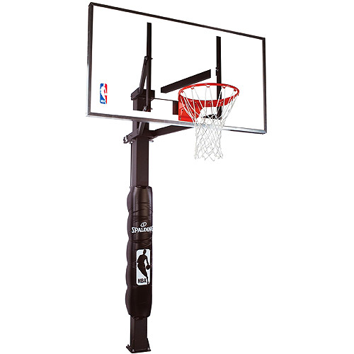 """Spalding 88830G 60"""" Performance Glass In-Ground Basketball System"""