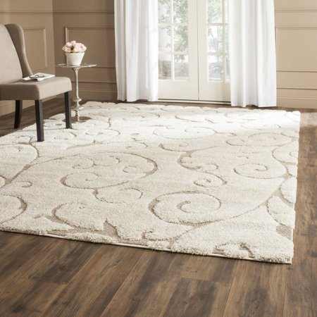 Safavieh Florida Douglas Floral Vines Shag Area Rug Or Runner