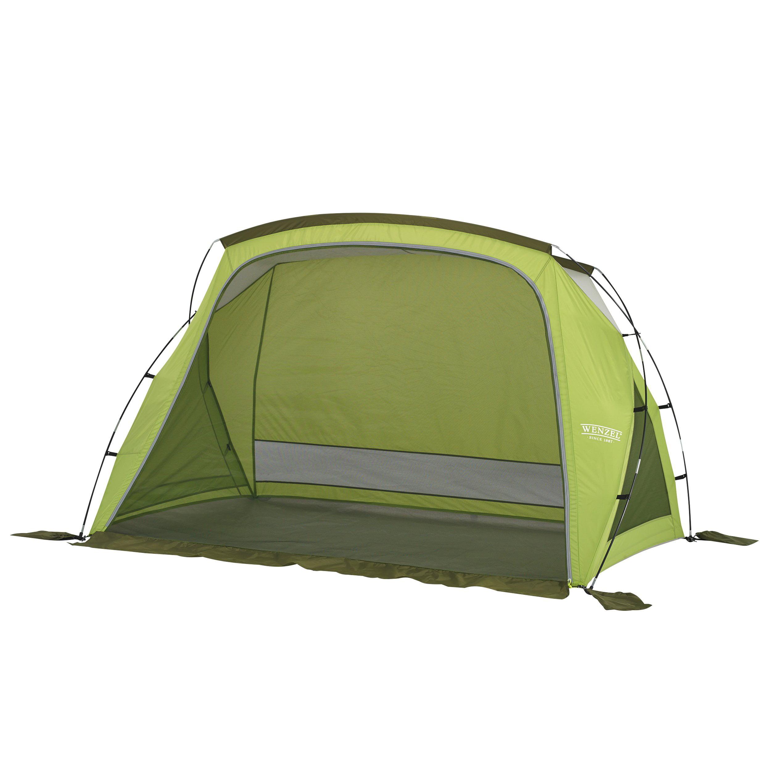 Wenzel Grotto Portable Outdoor Beach Camping Cabana Sun Shade Shelter, Green