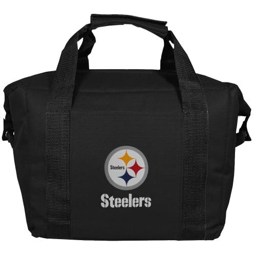 Pittsburgh Steelers Kooler Bag - Black - No Size