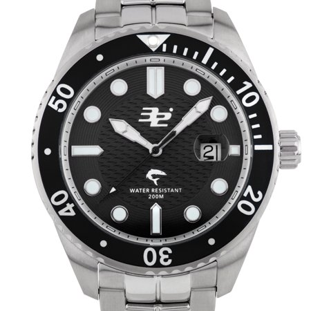 32 Degrees Blacktip Mens Swiss Made Diver Watch