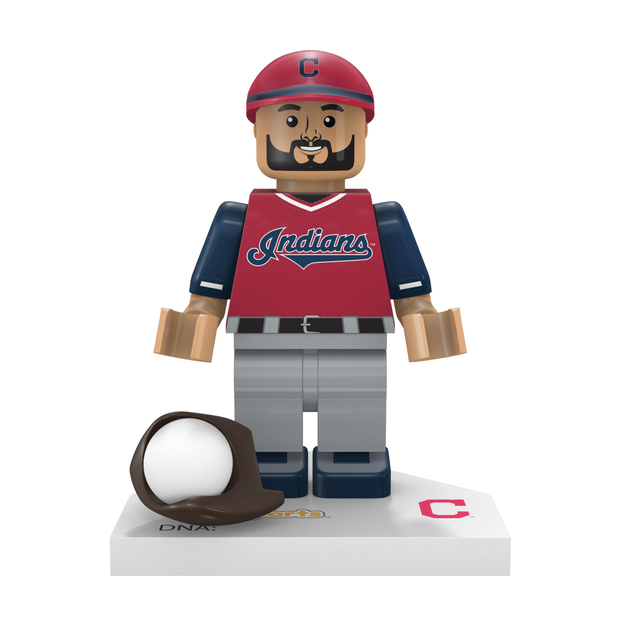 "Brad Hand 'Brotein Shake"" Cleveland Indians OYO Sports 2018 Players' Weekend Minifigure - No Size"