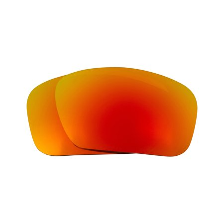 Replacement Lenses Compatible with OAKLEY Badman Polarized Red (Badman Oakley)