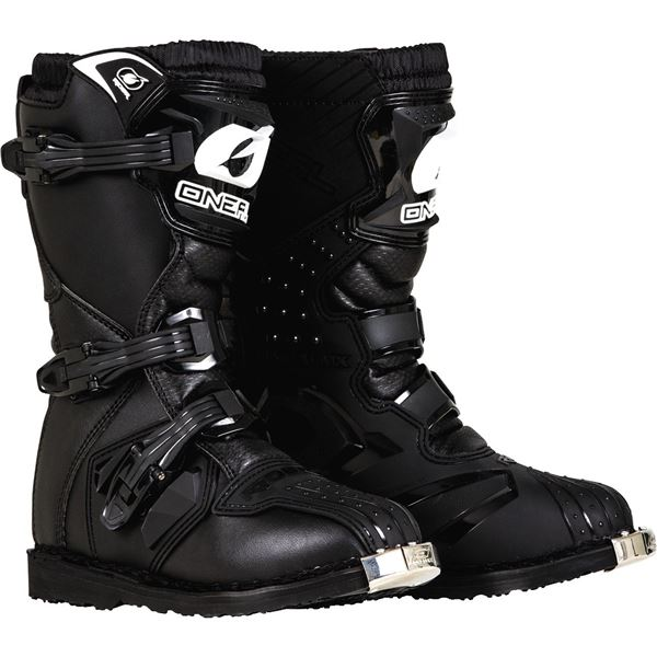 Oneal 2019 Youth Boys Rider Offroad Motocross Boots Black - 0325