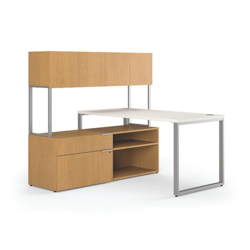 hon voi computer desk with hutch walmart com
