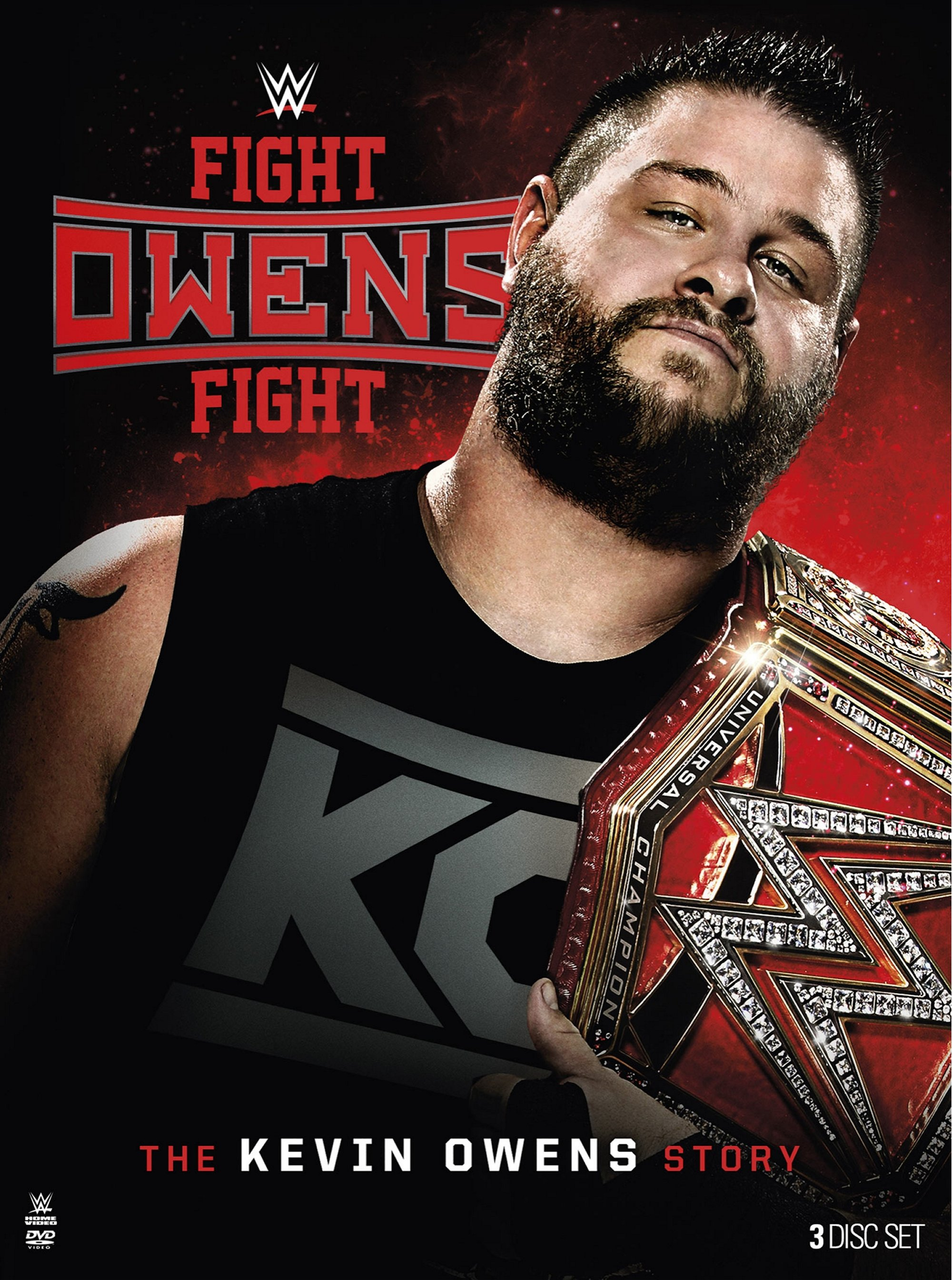 WWE: Fight Owens Fight: The Kevin Owens Story by